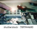 electronic engineer of computer ... | Shutterstock . vector #789944680