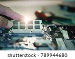 electronic engineer of computer ... | Shutterstock . vector #789944680