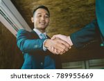welcome to board  asian... | Shutterstock . vector #789955669