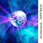 vector illustration of disco... | Shutterstock .eps vector #789978610