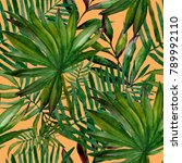 watercolor seamless pattern...   Shutterstock . vector #789992110