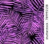 watercolor seamless pattern... | Shutterstock . vector #789992158