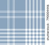plaid check pattern in dusty... | Shutterstock .eps vector #790004446