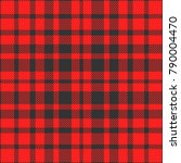 plaid check pattern in bright... | Shutterstock .eps vector #790004470