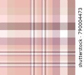 plaid check pattern in pink ... | Shutterstock .eps vector #790004473
