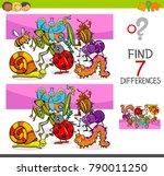 cartoon vector illustration of... | Shutterstock .eps vector #790011250