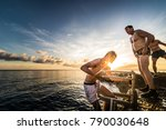 san andres island  colombia _... | Shutterstock . vector #790030648