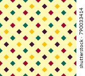 seamless colorful geometric... | Shutterstock . vector #790033414