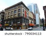boston   jun. 13  2015 ... | Shutterstock . vector #790034113