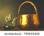 artisan extra virgin olive oil. ...   Shutterstock . vector #790035340