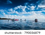 san andres island  colombia _... | Shutterstock . vector #790036879