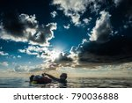 san andres island  colombia _... | Shutterstock . vector #790036888