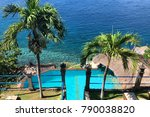 Swimming Pool On The Shore Of...