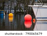boat bow and buoys   Shutterstock . vector #790065679