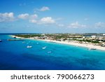 aerial view of the coast of... | Shutterstock . vector #790066273