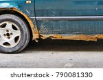 car with rust and corrosion | Shutterstock . vector #790081330