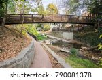 downtown walk along the san... | Shutterstock . vector #790081378