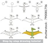 kid game to develop drawing... | Shutterstock .eps vector #790081756