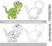 drawing worksheet for preschool ...   Shutterstock .eps vector #790081780