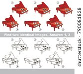 the educational kid matching... | Shutterstock .eps vector #790081828