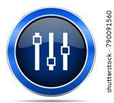 slider vector icon. modern...