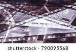 london  england   january 05 ...   Shutterstock . vector #790095568