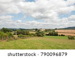 english countryside in the... | Shutterstock . vector #790096879