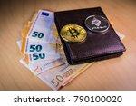 financial cryptocoin concept... | Shutterstock . vector #790100020