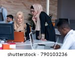 startup business people group...   Shutterstock . vector #790103236