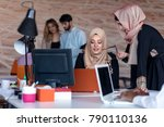 startup business people group... | Shutterstock . vector #790110136