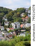 Small photo of Hamburg, Germany - Blankenese redidential neighborhood in district of Altona.