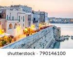 beautiful otranto by adriatic...   Shutterstock . vector #790146100