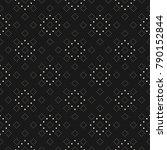 subtle minimalist dotted... | Shutterstock .eps vector #790152844