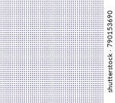 modern textured halftone of... | Shutterstock .eps vector #790153690