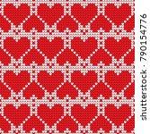 valentines day love heart...   Shutterstock .eps vector #790154776