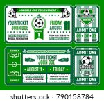 Soccer Ticket Template Of...