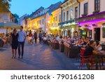 zagreb  croatia   aug 25  2017  ... | Shutterstock . vector #790161208
