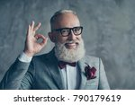 close up portrait of funny... | Shutterstock . vector #790179619