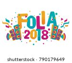 popular event in brazil.... | Shutterstock .eps vector #790179649