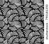 geometric template vector.... | Shutterstock .eps vector #790181350
