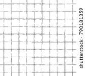 grunge square frames  thin... | Shutterstock .eps vector #790181359