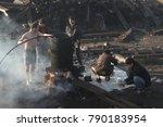 belgrade  serbia   december 27  ...   Shutterstock . vector #790183954