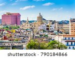 Havana  Cuba Downtown Rooftop...