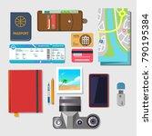set of vector elements for...   Shutterstock .eps vector #790195384