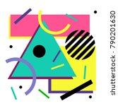 vector. abstract seamless... | Shutterstock .eps vector #790201630