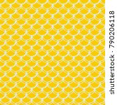 little mermaid seamless pattern....   Shutterstock .eps vector #790206118