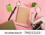 education concept   notepad ...   Shutterstock . vector #790212223