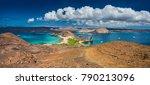 The Galapagos Islands. Panoram...