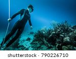 san andres island  colombia _... | Shutterstock . vector #790226710
