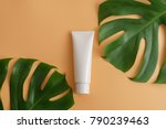 white cosmetic products and... | Shutterstock . vector #790239463